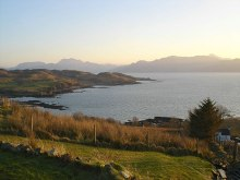 Saasaig, Knock Bay from Saasaig, Inverness-shire © Roger McLachlan